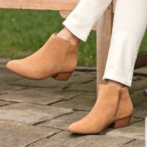 Jack Rogers NEW Bailee Suede Ankle Boots / Booties